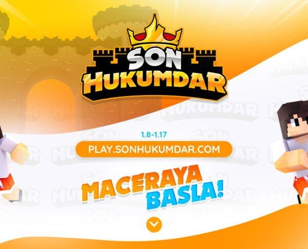 Son Hükümdar Türk Minecraft HUB Sunucusu